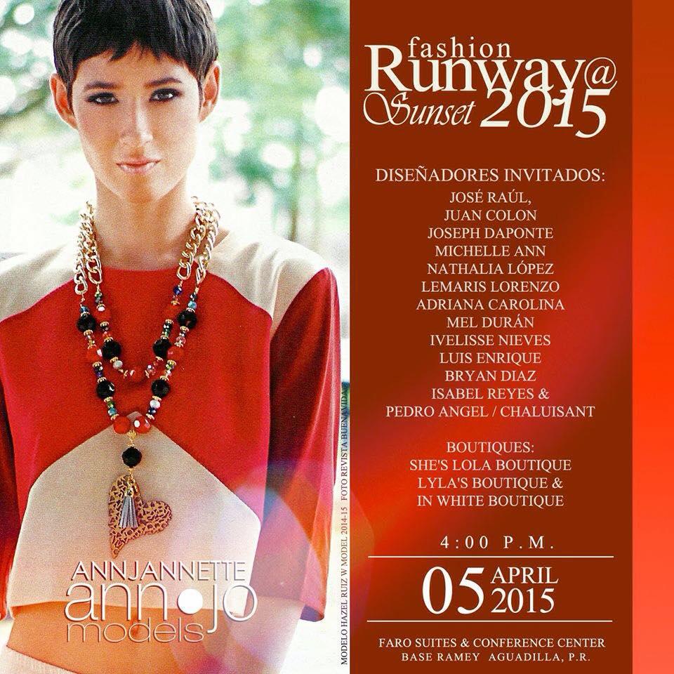 Fashion Runway @ Sunset 2015
